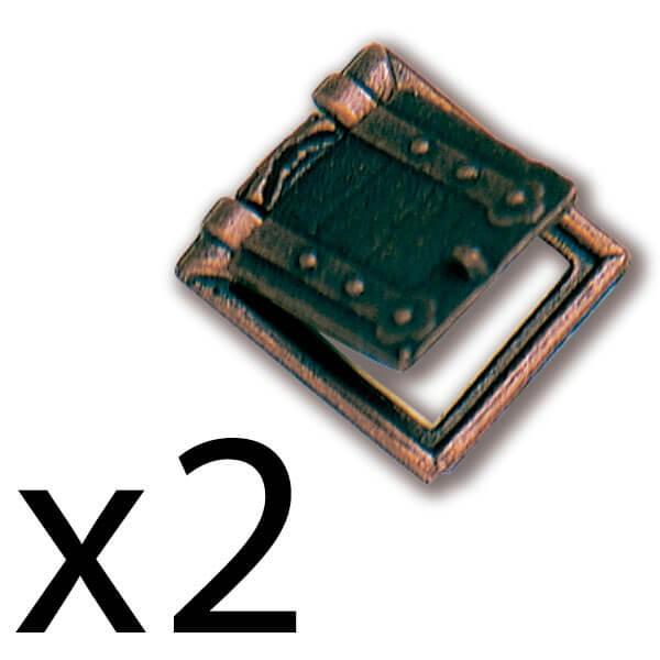 Constructo 80211 Tronera con Porta 10X11mm Tronera con porta en metal.