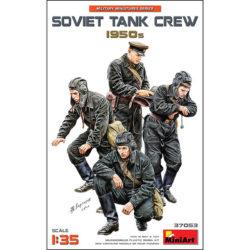 Soviet Tank Crew 1950´s Military Miniatures Series Kit en plástico para montar y pintar 4 figuras de carristas soviéticos de los años 1950s. Escala 1/35