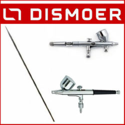 Dismoer Aguja 0,2mm 0,3mm y 0,4mm para los Aerógrafos D-102 y D-103