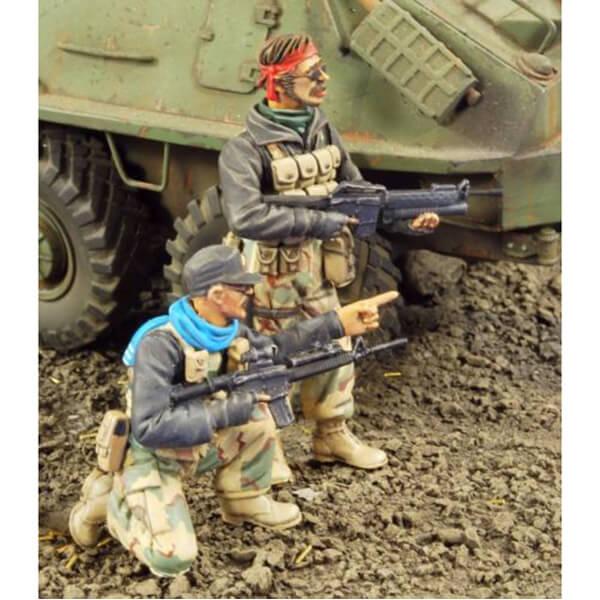Verlinden 2790 Covert Ops. Afganistan 1/35 Kit en resina para montar y pintar 2 GI USA de operaciones especiales en Afganistan.