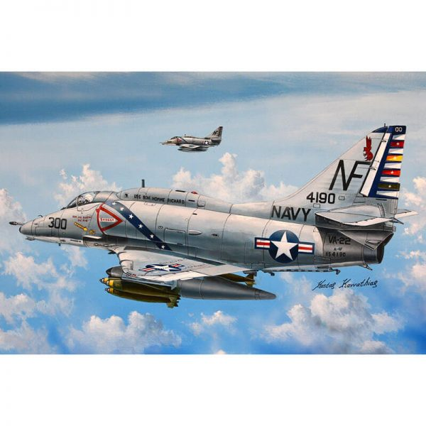 hobby boss 87255 Douglas A-4F Sky Hawk 1/72 Kit en plástico para montar y pintar.