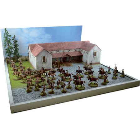 italeri 6115 Pax Roman Battle Set 1/72 Struggle at the roman villa. Kit en plástico para montar y pintar.