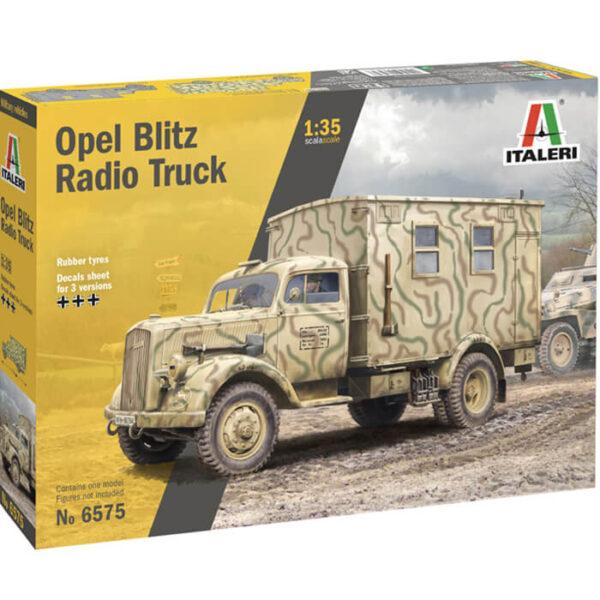 italeri 6575 Opel Blitz Radio Car Kit en plástico para montar y pintar.