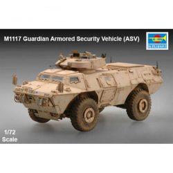 trumpeter 07131 M1117 Guardian Armored Security Vehicle (ASV) 1/72 Kit en plástico para montar y pintar.