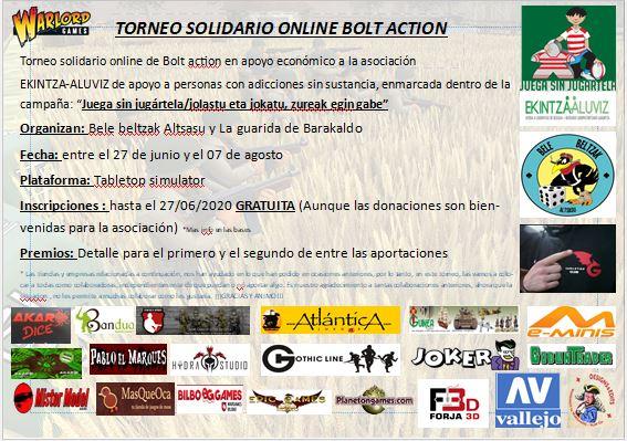 torneo online Bolt Action 2020