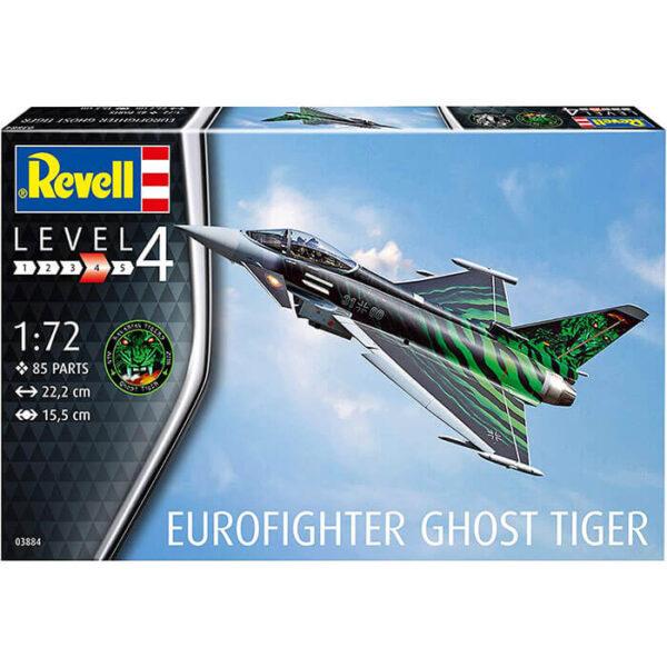 Revell 03884 Eurofighter Typhoon Ghost Tiger 1/72 Maqueta en plástico para montar y pintar.