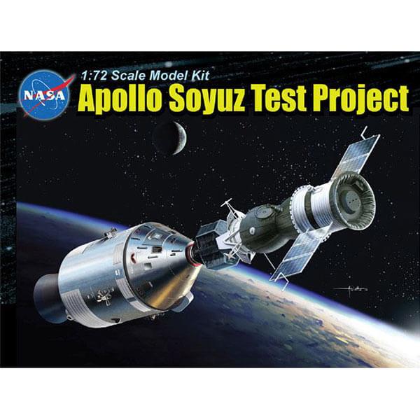dragon 11012 Apollo Soyuz Test Project 1/72 kit en plástico para montar y pintar.