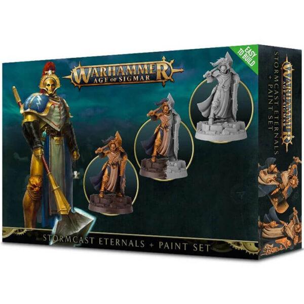 games workshop Stormcast Eternals Set de pintura Warhammer Age of Sigmar Este set esta pensado para iniciarse con los Stormcast Eternals