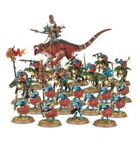 games workshop Start Collecting! Seraphon Warhammer Age of Sigmar Esta fantástica caja te proporciona una colección instantánea de fabulosas miniaturas de Seraphon que podrás montar y usar directamente en partidas de Age of Sigmar.