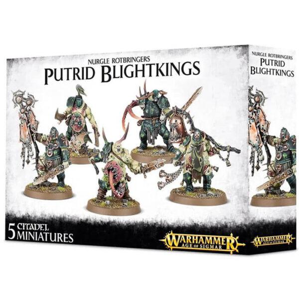 Putrid Blightkings Nurgle Rotbringers