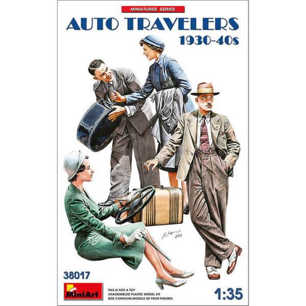 miniart 38017 Auto Travelers 1930-40s 1/35 Kit en plástico para montar y pintar