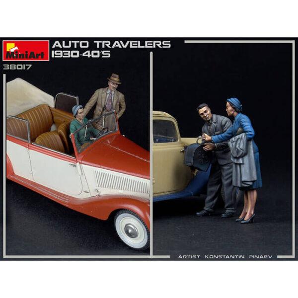 Miniart - 38017 AUTO TRAVELERS 1930-40S