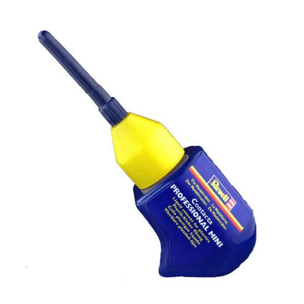 revell 39608 Contacta Profesional Mini 12,5 gr Pegamento líquido con aplicador de aguja para maquetas de plástico.