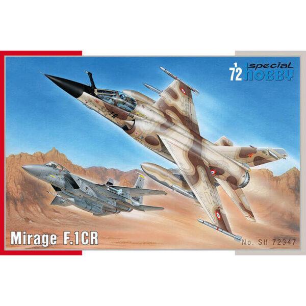 special hobby sh 72347 Mirage F.1CR 1/72 Maqueta en plástico para montar y pintar. Hoja de calcas con 3 decoraciones francesas.