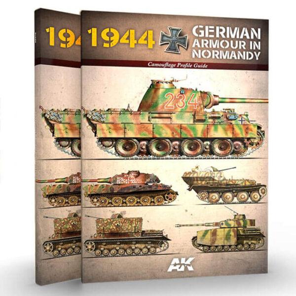 AK916 1945 Blindados Alemanes En Normandía Esta nueva guía de perfiles de alta calidad con todos los detalles, os permitirá conocer los blindados alemanes que tomaron parte en los combates acaecidos en Normandía tras la invasión aliada el 6 de junio de 1944.