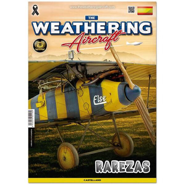 AMIG5116 The Weathering Aircraft Nº016 Rarezas Este número esta dedicado a los esquemas menos habituales y cómo resolver los problemas que suelen encontrar los modelistas a la hora de realizarlos. 64 páginas a color con texto en castellano.
