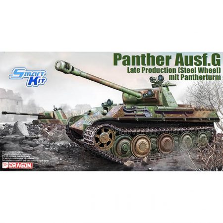 dragon 6941 Panther G Late Steel Wheel w/IR Sight mit Pantherturm 1/35 Kit en plástico para montar y pintar
