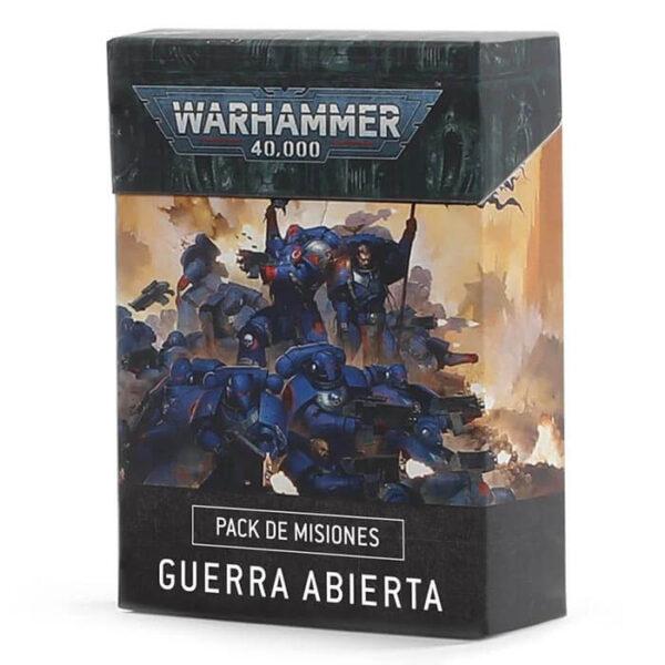 games workshop 40-20 Warhammer 40,000 Cartas de Guerra Abierta Pack de Misiones