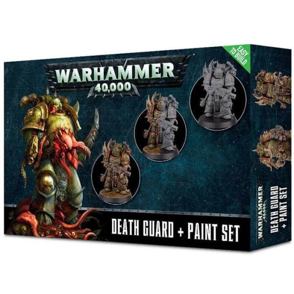 games workshop 60-27 Death Guard Set de pintura Warhammer 40.000 Este set esta pensado para iniciarse con los Death Guard de Warhammer 40K.