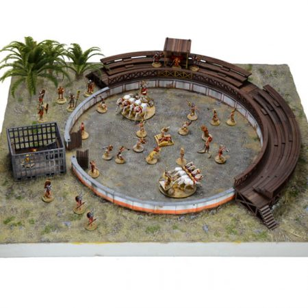 italeri 6196 Gladiators Fight - Battle Set 1/72 Ludus Gladiatorius Kit en plástico para montar y pintar.