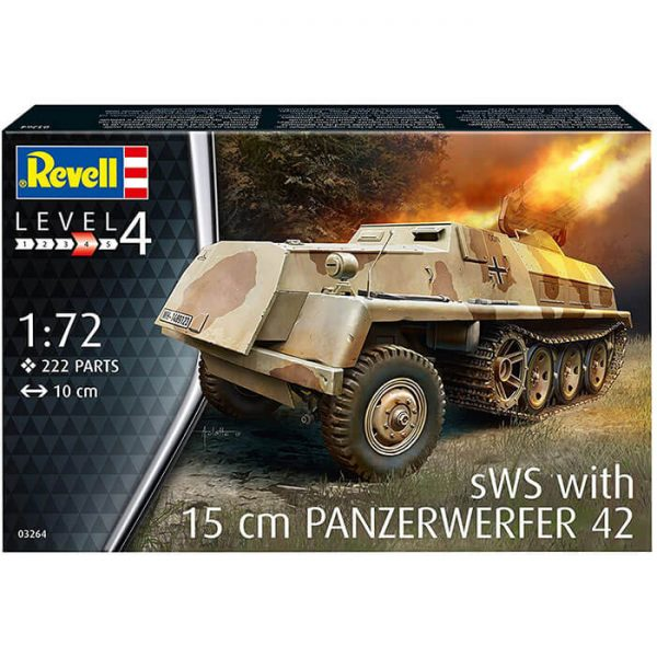 revell 03264 sWs with 15cm Panzerwerfer 42 1/72 Kit en plástico para montar y pintar