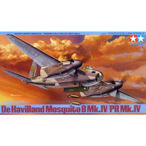tamiya 61066 de Havilland Mosquito B Mk.IV/PR Mk.IV 1/48 Kit en plástico para montar y pintar.