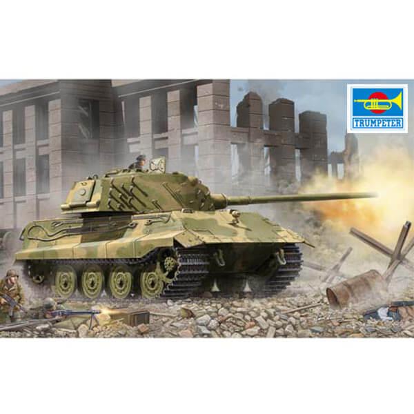 trumpeter 01538 German E-75 Standardpanzer 1/35 Kit en plástico para montar y pintar. Incluye piezas en fotograbado.