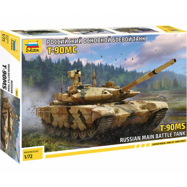 zvezda 5065 Russian main battle tank T-90MS 1/72 Kit en plástico para montar y pintar.