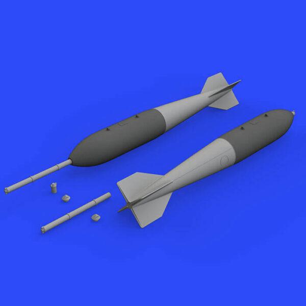 M 118 bomb 1/48 Kit en resina de las bombas US M 118 . El set incluye 2 bombas.