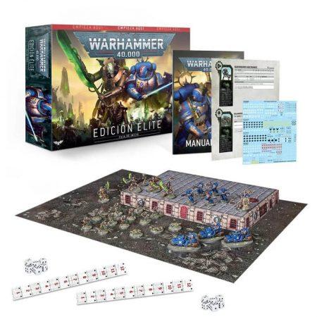 games workshop 40-03 Warhammer 40,000 Edición Élite Con la edición Élite podrás adentrarte en el apasionante mundo de las batallas del 41.º Milenio.