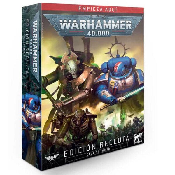 games workshop 40-04 Warhammer 40,000: Edición Recluta La edición Recluta es perfecta para jugadores que nunca hayan probado Warhammer 40,000 y quieran empezar de una manera sencilla.