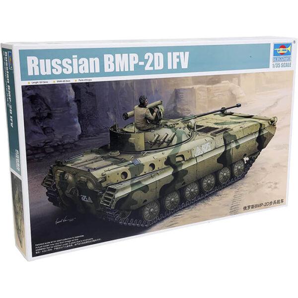 trumpeter 05585 Russian BMP-2D IFV 1/35 Kit en plástico para montar y pintar. Incluye piezas en fotograbado.