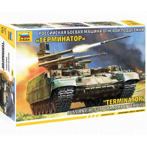 ZVEZDA 5046 Terminator 1/72 Russia fire support combat vehicle Kit en plástico para montar y pintar.