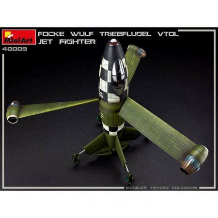 miniart 40009 Focke Wulf Triebflugel Vtol Jet Fighter 1/35 What if...? Series Kit en plástico para montar y pintar. Incluye piezas en fotograbado.