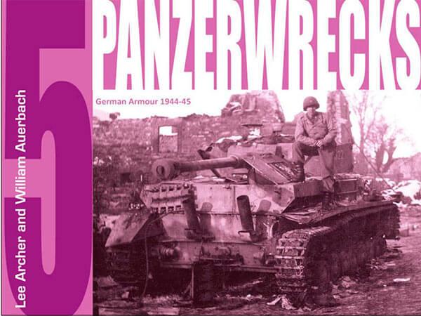 Panzerwrecks nº4: German Armor 1944-45