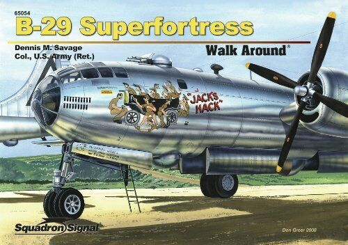 5554 Walk Arround: B-29 Superfortress
