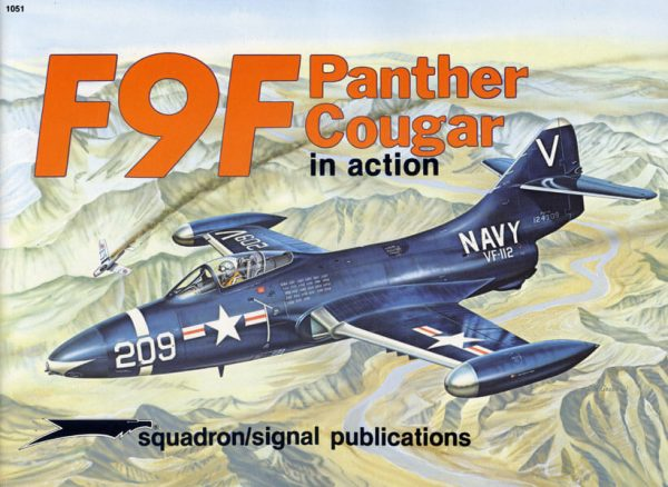 1051 F9F Panther Cougar in action