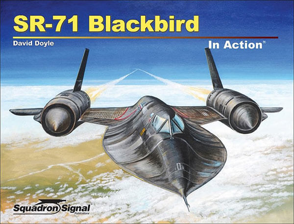 1055 SR-71 Blackbird in action