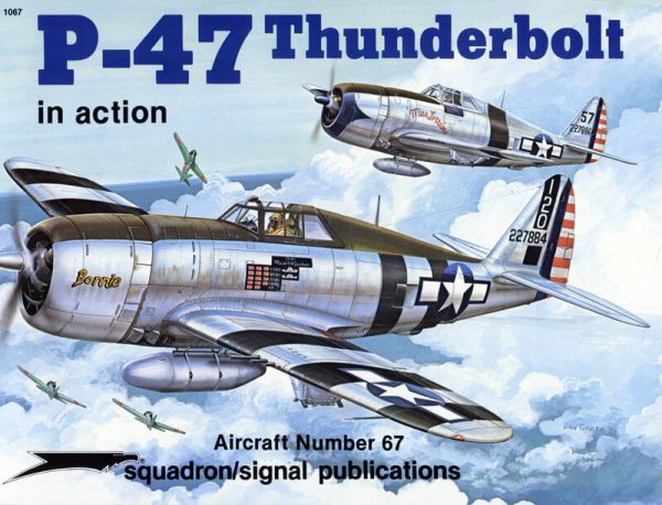 1067 P-47 Thunderbolt in action
