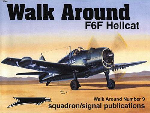 5509 Walk Arround: F6F Hellcat Estudio fotográfico en detalle del F6F Hellcat.