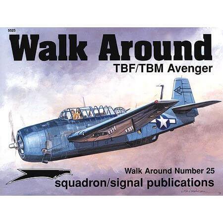 5525 Walk Arround: TBF/TBM Avenger Estudio fotográfico en detalle del TBF/TBM Avenger.