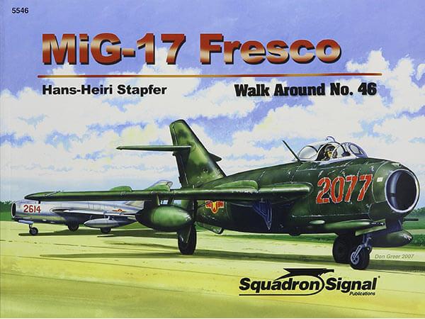 5546 Walk Arround: MIG-17 Fresco Estudio fotográfico en detalle del MiG-17 fresco.