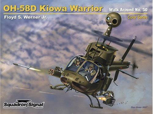 5550 Walk Arround: OH-58D Kiowa Warrior Estudio fotográfico en detalle del OH-58D Kiowa.