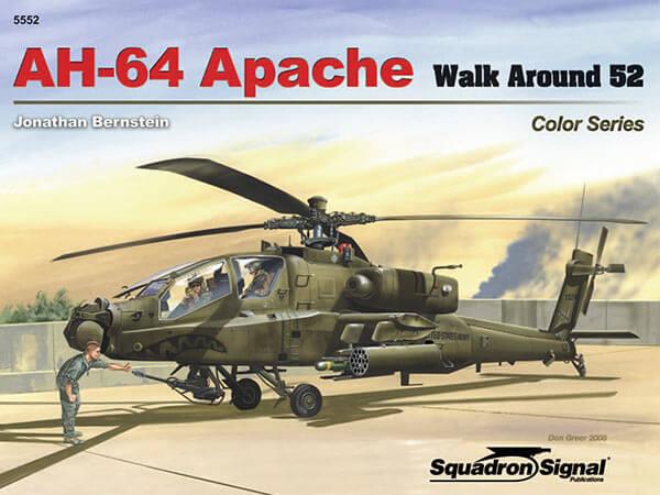 5552 Walk Arround: AH-64 Apache Estudio fotográfico en detalle del helicóptero AH-64 Apache.