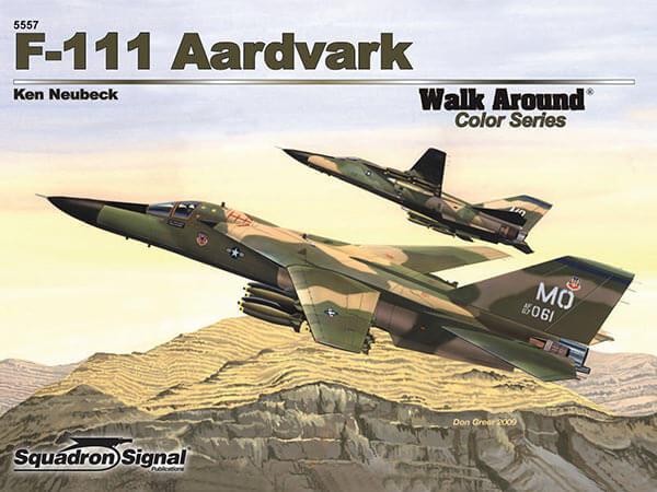 5557 Walk Arround: F-111 Aardvark Estudio fotográfico en detalle del F-111 Aardvark.