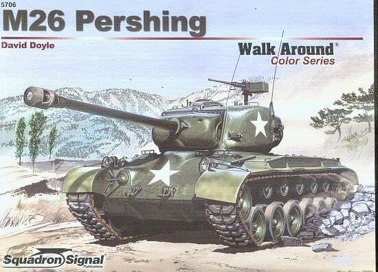 5706 Walk Arround M26 Pershing