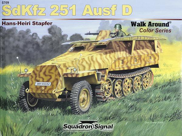 5709 Walk Arround Sd.Kfz.251 Ausf. D Estudio en detalle del semioruga alemán Sd.Kfz. 251 Ausf.D y variantes,interior,exterior,armamento,etc.