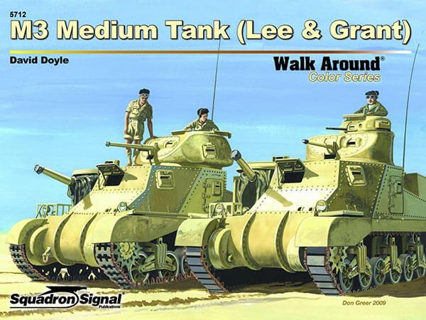 5712 Walk Around M3 Medium Tank Lee & Grant Estudio en detalle del tanque americano de la 2ª GM M3 y variantes,interior,exterior,armamento,etc.
