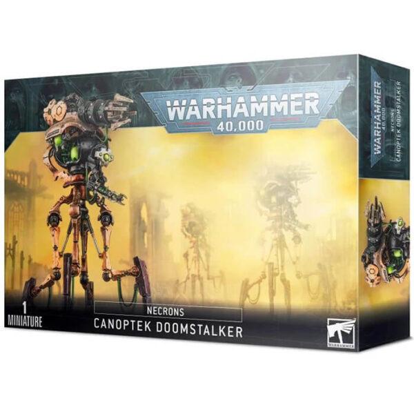 games workshop Destructor Acechante Canóptico Necrones Aniquila a tus oponentes con un alcance extremo. Montaje fácil: ¡sin pegamento! Perfecto para defender a tus unidades.