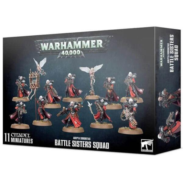 games workshop 52-20 Battle Sisters Squad Adepta Sororitas Monta el núcleo de tu ejército de Adepta Sororitas.